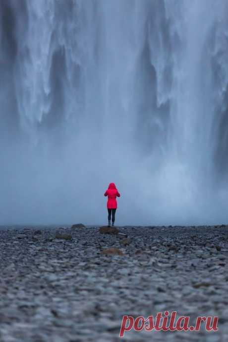 Водопад Скоугафосс, Исландия Автор: Dyatlovpass