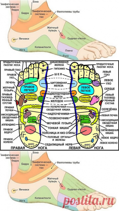 7 active points on foot will return you to life in a couple of minutes!
