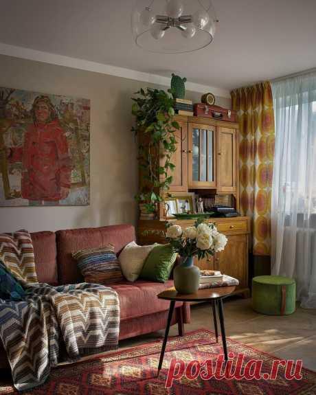 12 гостиных в хрущевках с замечательным дизайном | ИДЕИ ВАШЕГО ДОМА | Яндекс Дзен