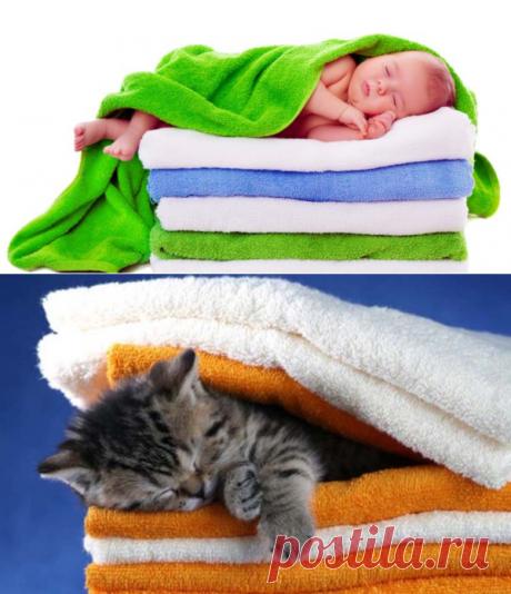 Как сделать полотенца мягкими после стирки: 12 способов | StoZabot.Com