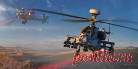 Проведены первые стрельбы из высокоэнергетического лазера на боевом вертолете | Чёрт побери Штурмовой вертолет Apache AH-64, оснащенный боевым лазером,провел испытательные стрельбы на полигоне в Нью-Мексико (США). Информация о различных системах лазерного вооружения, устанавливаемых на морских судах, самолетах и бронированной наземной технике, поступала и раньше. Теперь этот ряд пополнился и вертолетами, благодаря усилиям специалистов известной американской компании Raythe...