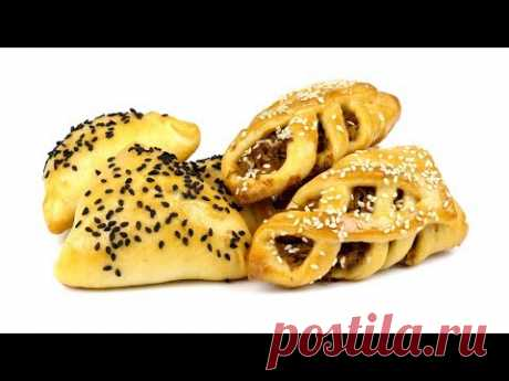 """Улетные&quot pies; from fast kefir dough. As barmy. 4k"
