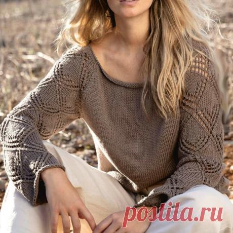 Вязать, не перевязать! Симпатичные пуловеры + схемы | Вязать легко и просто! | Яндекс Дзен