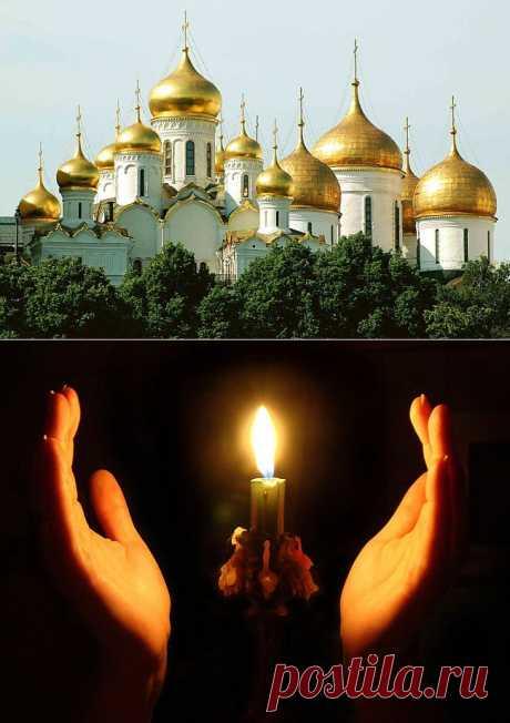 В храм не пускают...Притча..
