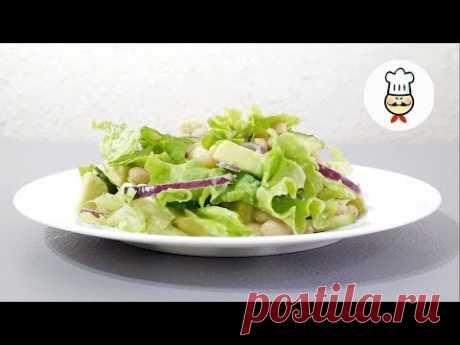 НОВЫЙ САЛАТ в ПОСТ / Вкусно и сытно / Простой салат на ужин - YouTube У вас возник вопрос, что приготовить в пост? Готовим вкусный, простой, и сытный салатик с авокадо и фасолью. И полезно и вкусно. Попробуйте обязательно такое сочетание.  Пост не повод совсем унывать. В пост можно есть очень вкусно.