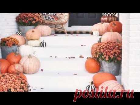 Осенний декор. 35 простых DIY идей осенних декораций.