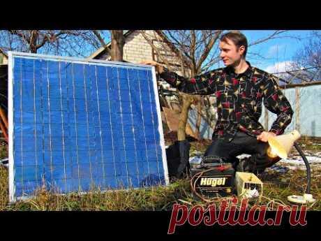 Солнечная электростанция своими руками 💡Подробная инструкция сборки, альтернативная энергетика