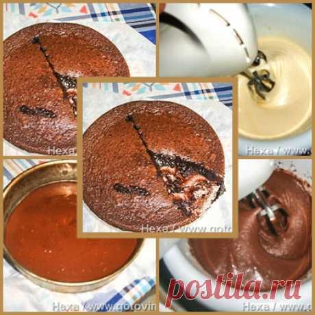 Пирог-размазня (Kladdkaka)