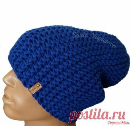Мои шапки-бини поперечным вязанием спицами - Вязание - Страна Мам