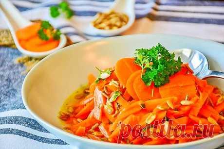 Салаты из моркови - 9 вкусных рецептов с капустой, курицей, яблоком, сыром и огурцом