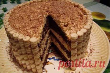 Как приготовить торт из печенья без выпечки :: Кулинарные рецепты