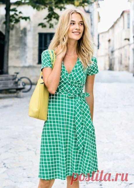 Стильное чайное платье / Все для женщины
