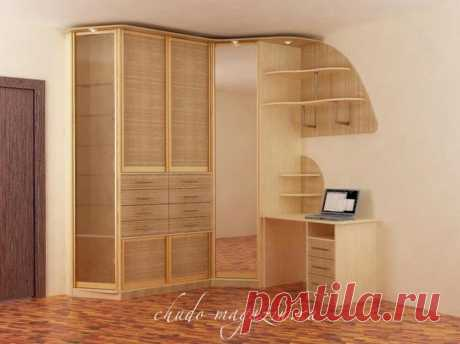 Угловой шкаф фасады бамбук или ротанг: фото, вид, дизайн, модели