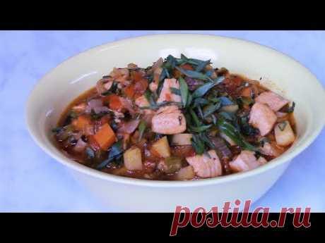 Наваристый , густой суп ЛАГМАН .  Как приготовить вкусный  лагман .