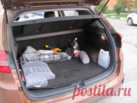 Что не следует возить в багажнике машины