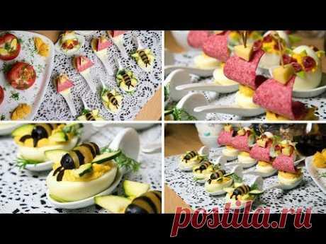 Парусники и пчелы - яичные деликатесы