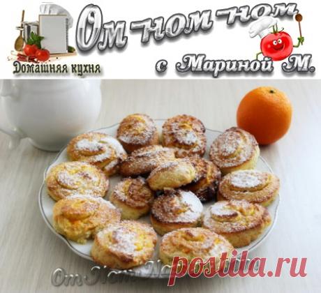 Печенье с апельсиновой начинкой | Ом-ном-ном с Мариной М