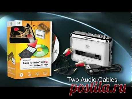 Гаджет под названием USB Cassette Tape to MP3 Player Converter Adapter позволит встроить прошлое в настоящее.