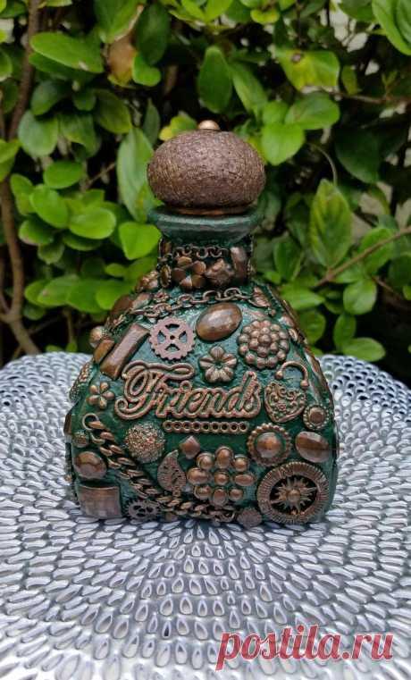 The Friendly Bottle | Etsy