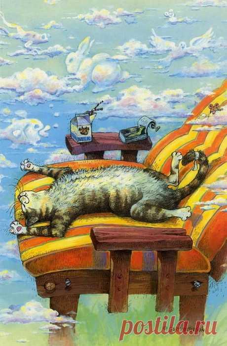 коты художника Gary Patterson: 14 тыс изображений найдено в Яндекс.Картинках