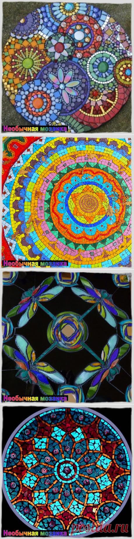 НЕОБЫЧНАЯ МОЗАИКА: Мозаичная мандала...