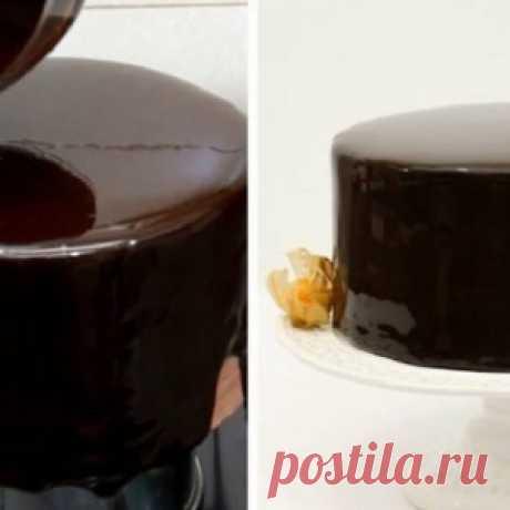 Когда пеку торт, покрываю его зеркальной глазурью по этому рецепту! Блеск - МирТесен