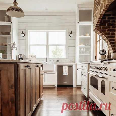Вагонка на кухне: 71 идея на фото дизайна интерьера от IVD.ru
