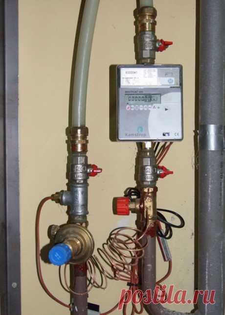 Счетчики на отопление - сколько стоит и как поставить