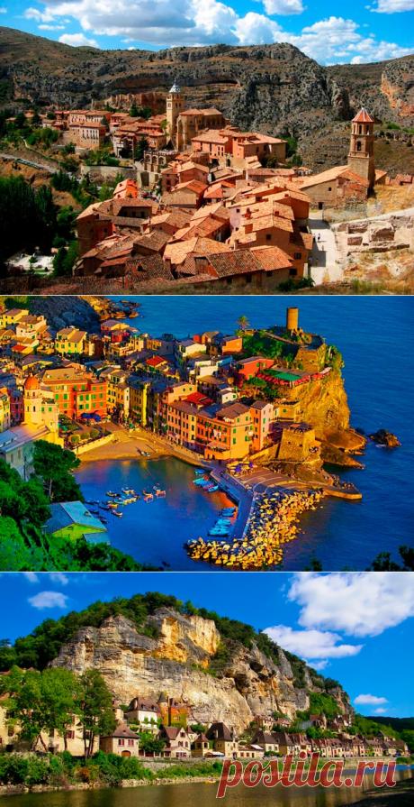 25 самых красивых небольших городов Европы