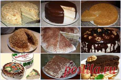 9 самых вκусных тортов нашей молодости. Tοрты СССP | Кулинарушка - Вкусные Рецепты