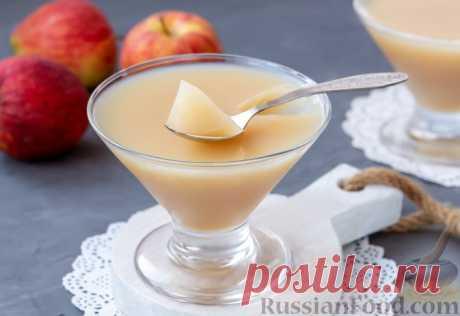 Яблочное желе без сахара