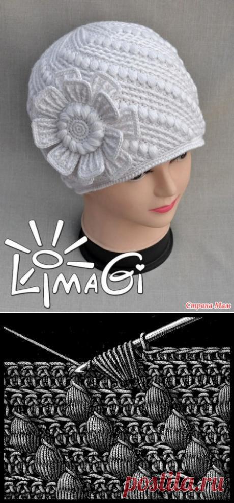 """Шапочка """"Ожерелье"""" от LimaGi"""