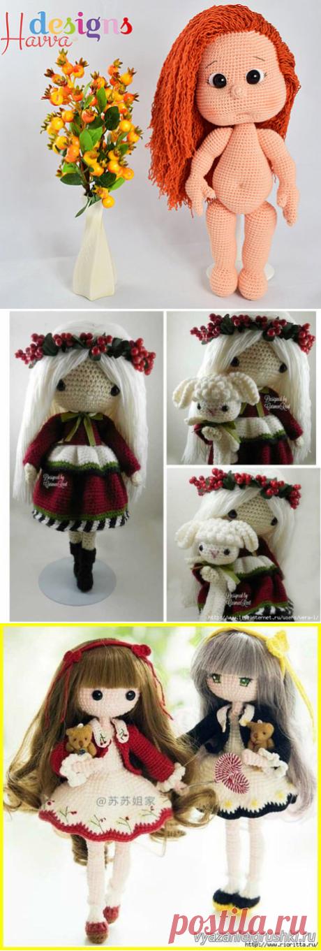 кукла крючком - Самое интересное в блогах