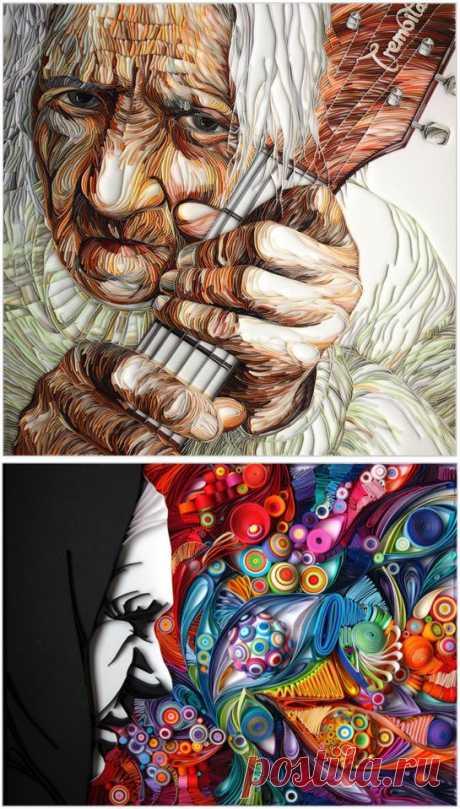 Юлия Бродская - новые шедевры квиллинга | Оригинальные идеи для творчества