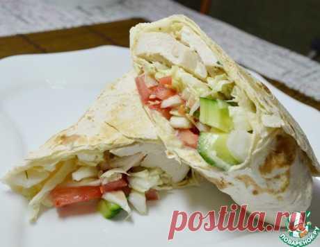 ПП шаурма – кулинарный рецепт
