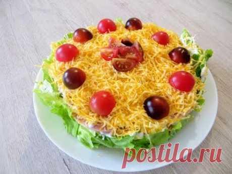Гости ахнут! Очень хочу, что бы вы попробовали этот торт салат!