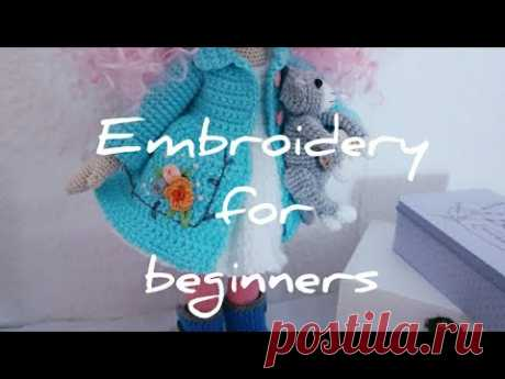 Embroidery for beginners #02