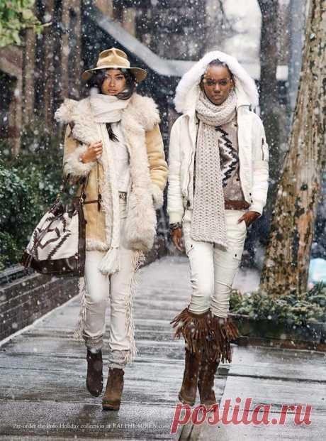 Осень и зима в стиле Бохо от Ralph Lauren Polo! — Модно / Nemodno