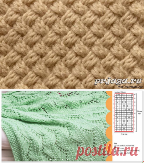 Patterns for knitting by spokes 94