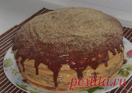 """Сладкий тортик с забавным названием идеально для детского праздника! Балуйте своих любимых!  ТОРТ """"МИШУТКА""""  Тесто: Показать полностью..."""