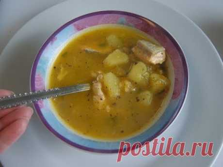 Рисовый суп с рыбой. Маринкины творинки
