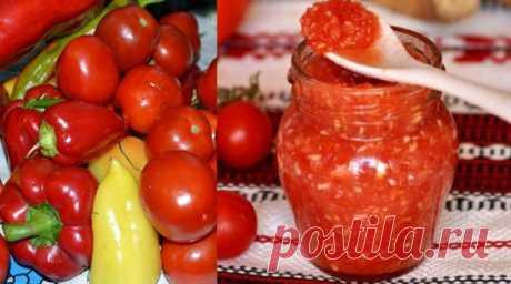 Соус душистый на зиму из томатов. Обалденно вкусный. Как приготовить?