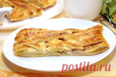 Пирог с яблоками – Пошаговый рецепт с фото. Выпечка. Вкусные рецепты с фото. Пироги