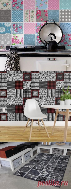 Стиль печворк: 80 идей лоскутного интерьера с особой атмосферой — Roomble.com