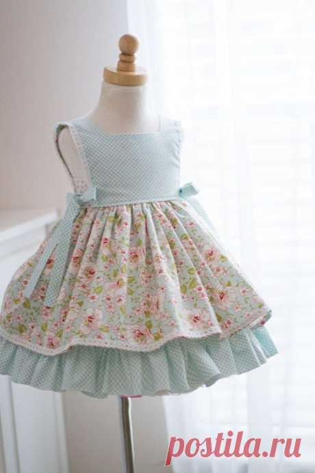 Summer blooms blue isabella dress