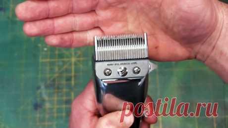 Как заточить ножи машинки для стрижки волос В идеале лезвия следует точить после каждого применения, но обычно это делают в том случае, когда при стрижке появляются болезненные ощущения – следствие