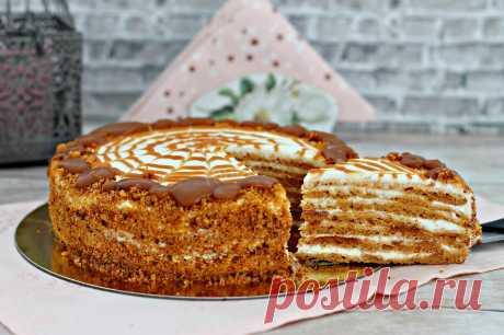 Торт Карамельная девочка рецепт с фото пошагово - 1000.menu
