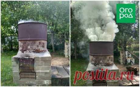 Как сделать печь для сжигания мусора на даче собственными руками | Личный опыт (Огород.ru)