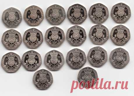 UK PROOF Twenty Pence Coins 20p 1982 to 2019 Choose your Year     eBay UK PROOF Twenty Pence Coins 20p 1982 to 2019 Choose your Year    Coins, Coins, British   eBay!