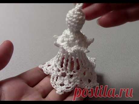 Ангел крючком для начинающих/Crochet Angel For Beginners